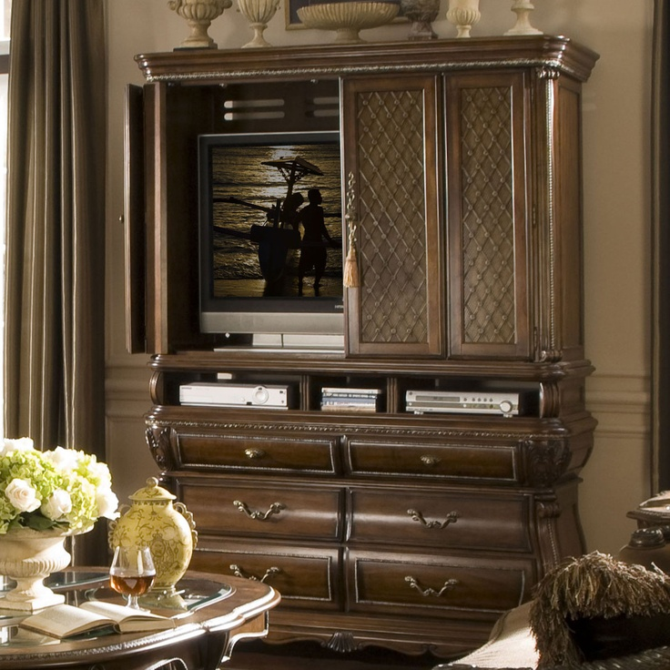 tv armoire for bedroom. 17 Best images about tv armoire on Pinterest   Wood veneer