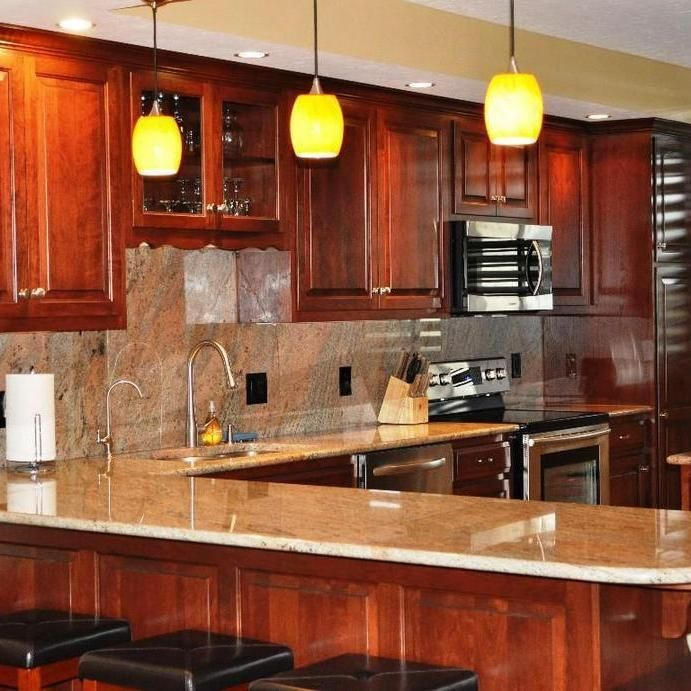 42+ The Argument About Cherry Wood Kitchen Cabinets Decor ...