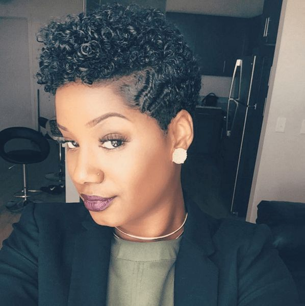 Defined Tapered Cut Curls IG:@brileelovely #naturalhairmag