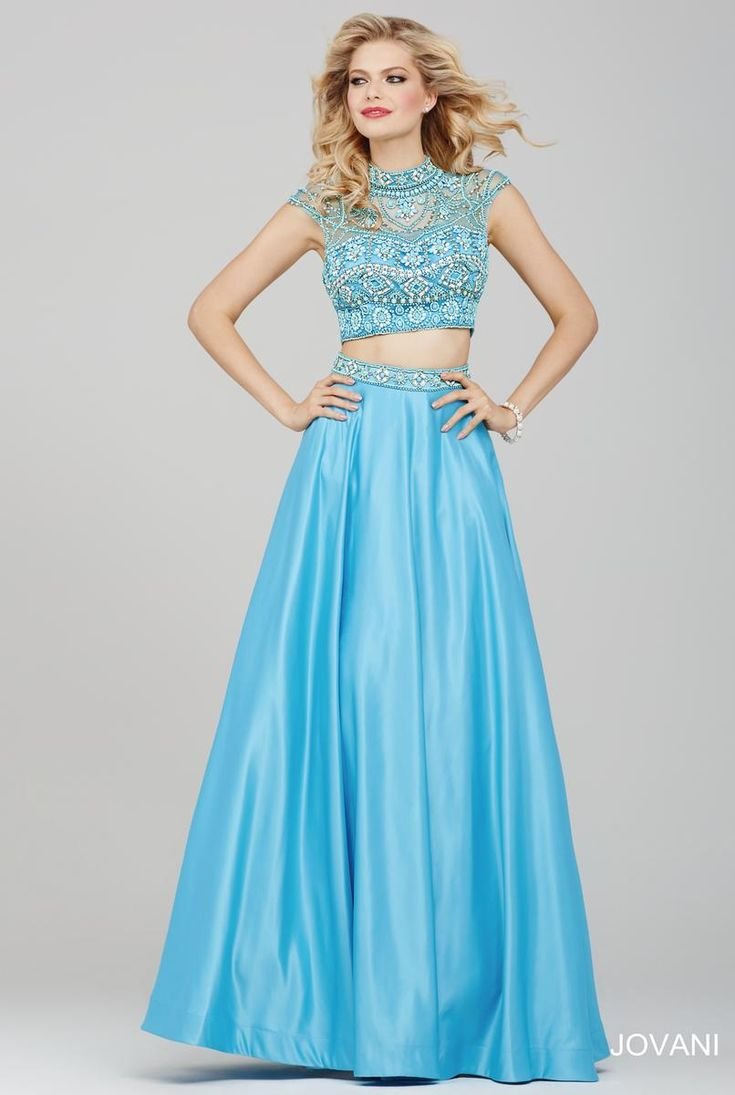 92 best Two Piece Prom Dresses images on Pinterest | Dressy dresses ...