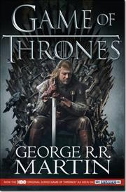 A Game of Thrones af George R R Martin, ISBN 9780007428540