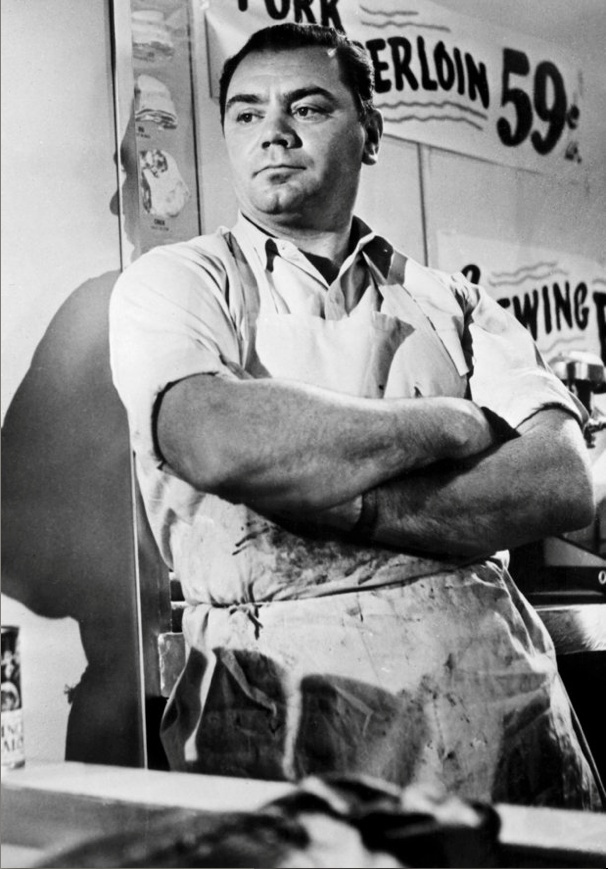Ernest Borgnine  watch Marty- what a sweet character