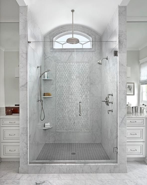 Best Baths Showers Images On Pinterest Master Bathrooms - Diy bathroom shower flooring ideas