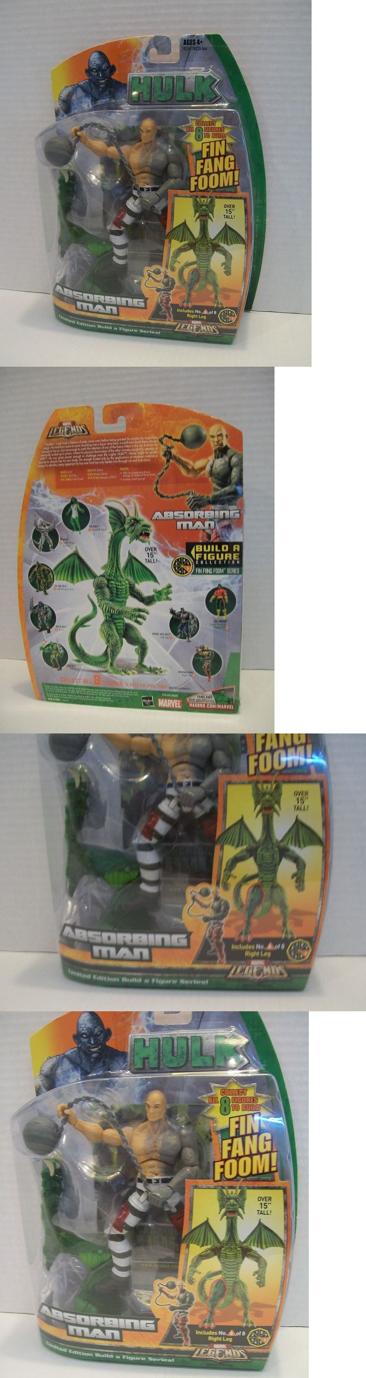 Action Figures 7114: Marvel Legends Absorbing Man Fin Fang Foom Baf Series Action Figure -> BUY IT NOW ONLY: $49.95 on eBay!