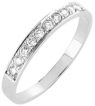 #Vihkisormus - KÖLN - #MalminKorupaja. #Timanttisormus, #rivisormus, #valkokulta. #Diamond #ring by Malmin Korupaja. #Wedding ring, #whitegold.