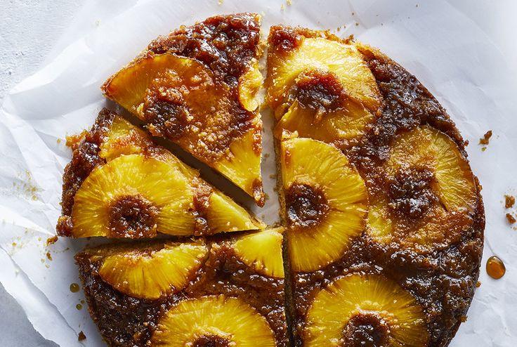 Pineapple Upside-Down Cake   Real Simple