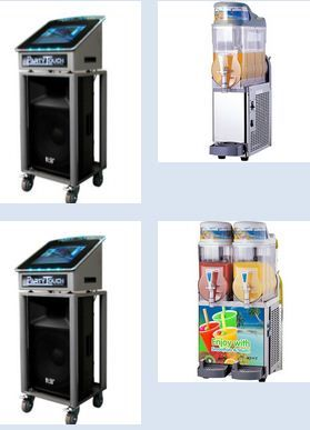 """We 'Me Express Pty Ltd.' deliver the services for Digital Video Karaoke Jukebox hire in Melbourne. Installing our video jukebox """"Party Touch"""" in any event is an ultimate way for those music lovers to want to get engrossed in singing along with music."""