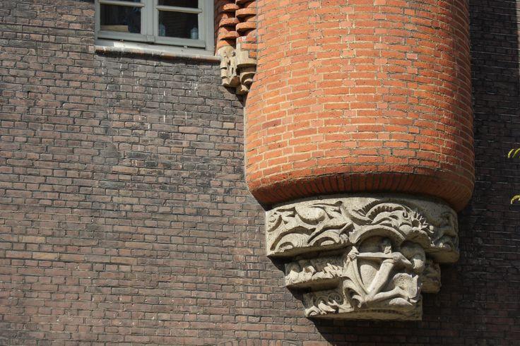 gevelversiering Amsterdam