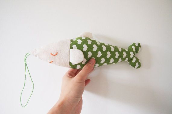 Personalised Sleepy Fish by TheRainbowInMyMind on Etsy, £13.00