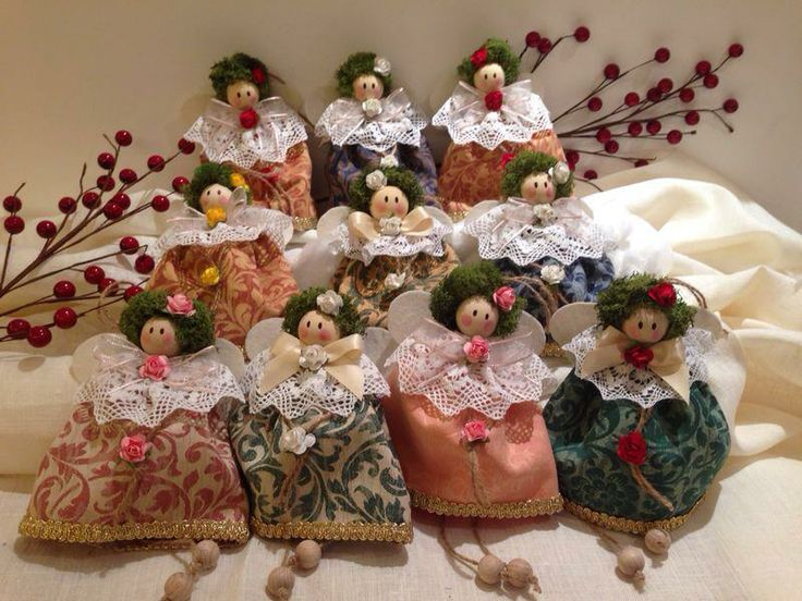 MANY BEAUTIFUL HANDMADE ANGELS  WHAT IS YOUR FAVORITE? @detrizio