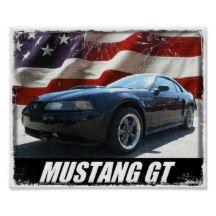 2003 Mustang GT Poster