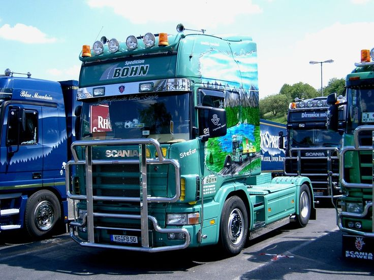 138 best images about scania on pinterest semi trucks - Bac a semis ...