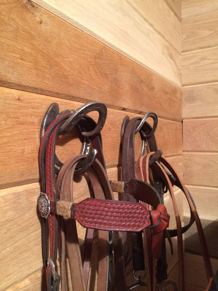 Bridle hooks my daughter made