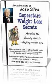 Silva UltraMind's Superstars Weight Loss Secrets, the original weight control program created by Silva Mind Control Method Founder Jose Silva.