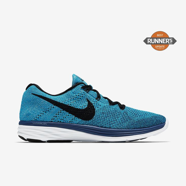 Nike Flyknit Lunar 3 Women's Running Shoes Game Royal/Neo Turquoise/University Blue/Black 980