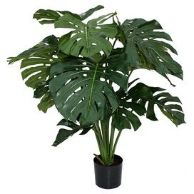 Faux Monstera Planter BIG plant