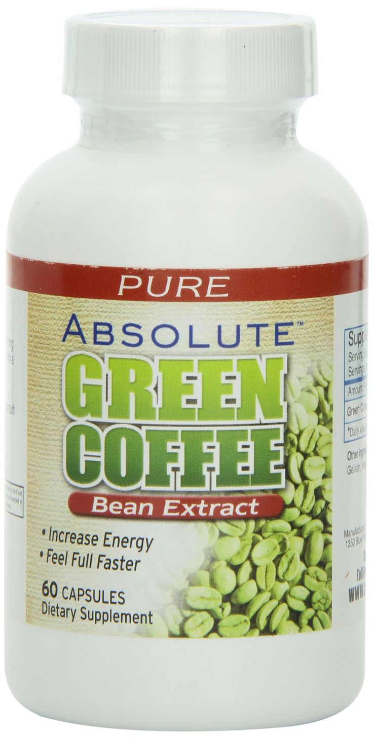 Absolute Nutrition Green Coffee Extract 60 Caps Want