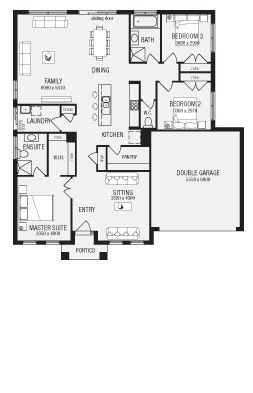 Lancaster, New Home Floor Plans, Interactive House Plans - Metricon Homes - NSW