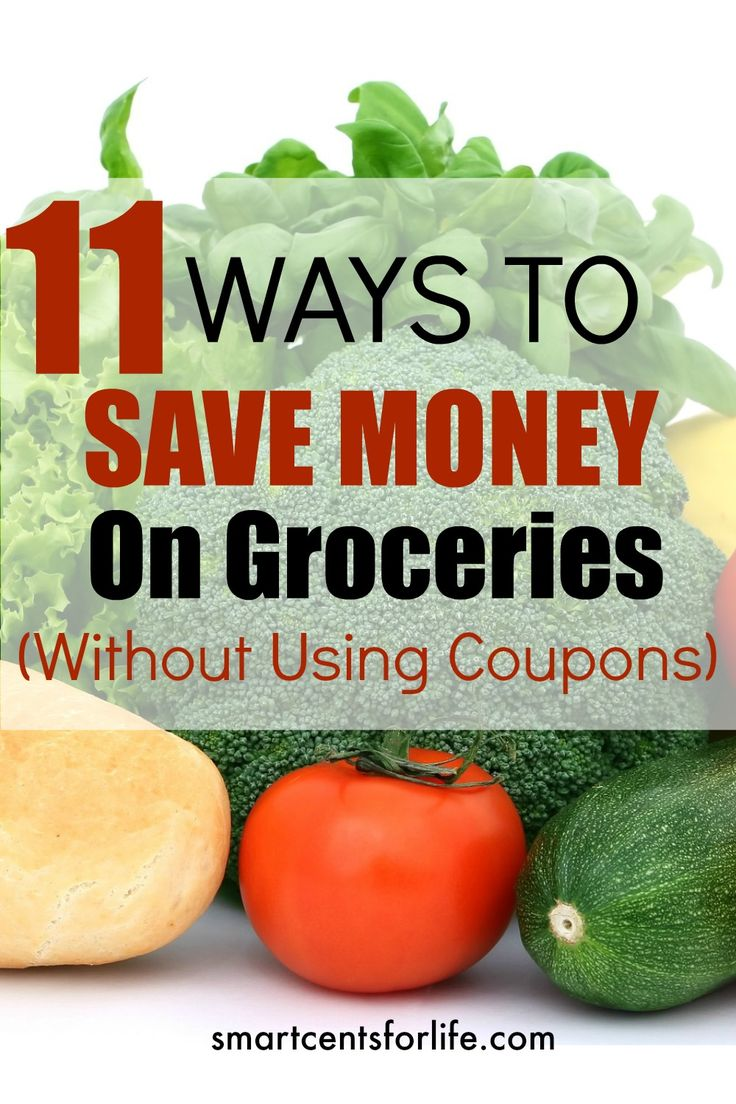 This list of 11 ways to save money on groceries without using coupons will save you hundreds per month. Apply these 11 methods and start saving money now.