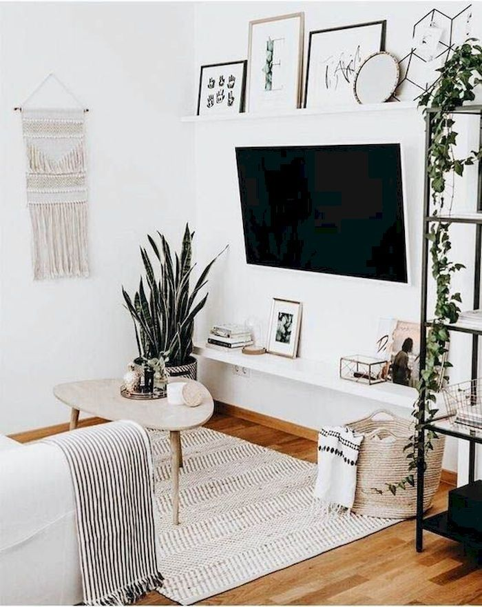 Dreamy Lively Scandinavian Ideas For Apartment Design 04 In 2020 Living Room Decor Apartment Minimalist Living Room Design Minimalist Living Room
