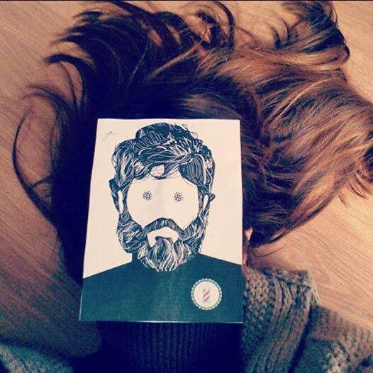El pelazo de Amara Montes. Yo también soy Char~Mito. Barba historia