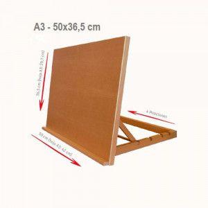 Material Bellas Artes - Pintura - Caballete Atril Sobremesa A3 ArtCreation | totenart.com
