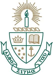 Alpha Sigma Tau crest