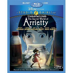 Secret World of Arietty is an amazing adaption of one of my favorite books. One of my favorite movies too!