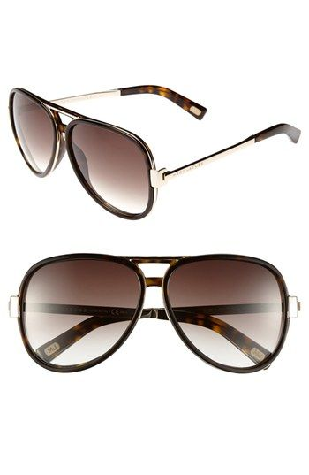 MARC JACOBS Aviator Sunglasses available at Nordstrom