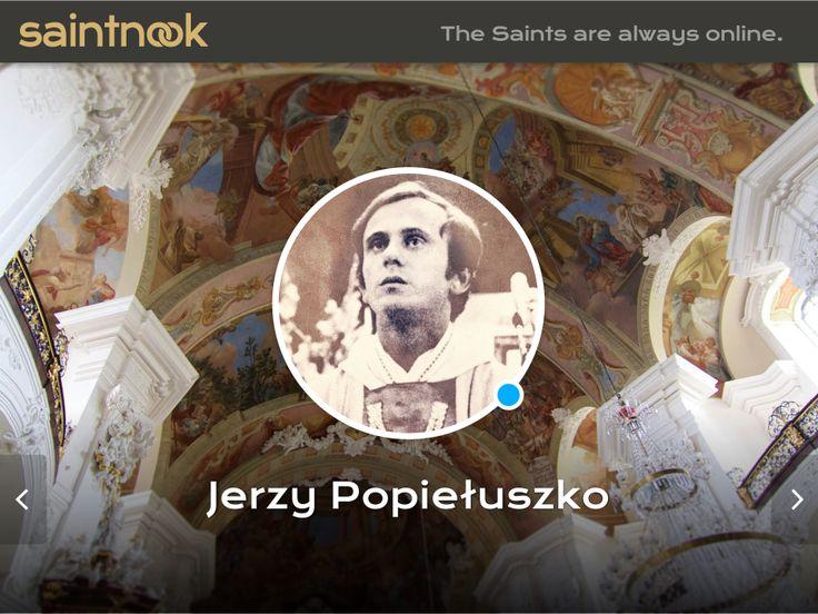 Jerzy Popiełuszko  www.saintnook.com/jerzypopieluszko | Cover photo CC Paweł Witan