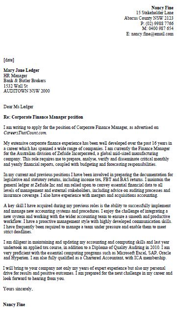 35 best Job Application Forms images on Pinterest Printable job - sample cover letter for finance manager position