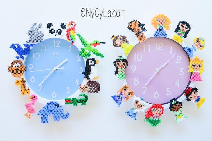 [DIY #10] Une horloge personnalisée en perles chauffantes