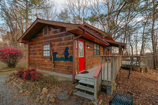 Kandy Kisses 1 Bedroom Gatlinburg Rental Gatlinburg Cabin Rentals Cabin Style Homes Cabin