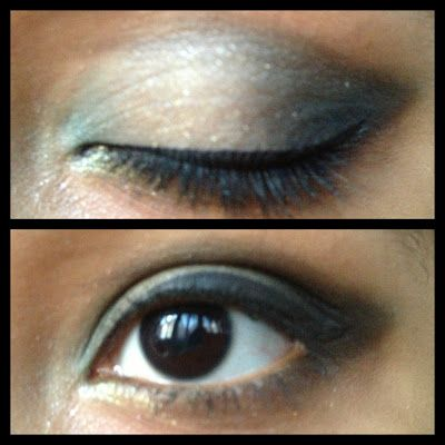 Eye look with Fraulein 38's Eyeshadow Palette | Eyes Painted Black