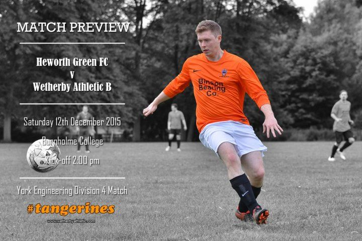 Match Preview: Wetherby B Travel To The League Leaders! http://www.wetherbyathletic.com/news/match-preview--heworth-green-fc-1539013.html
