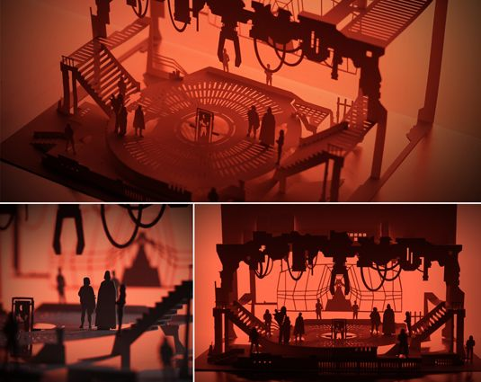 These paper-cut Star Wars scenes are a Han-crafted delight - see more on our site.