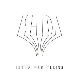石田製本株式会社のロゴ:立体的な広がりが面白いロゴ | ロゴストック