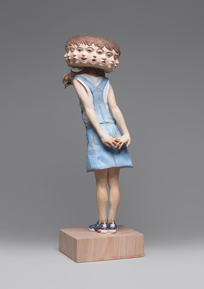 Yoshitoshi Kanemaki'den Görsel Algınızı Tepetaklak Edecek Heykel Tasarımları Sanatlı Bi Blog 30