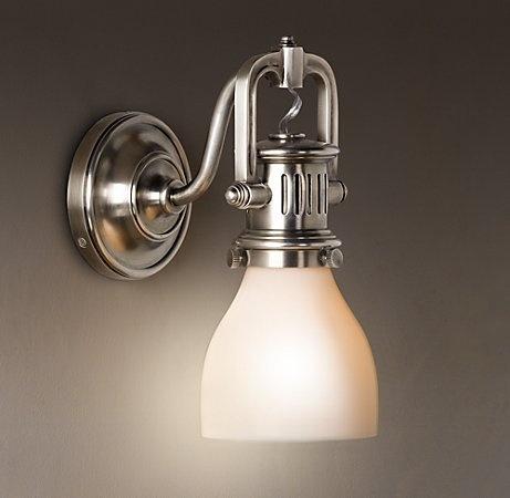 Bathroom Vanity Lights Restoration Hardware 19 best bathroom lighting images on pinterest | bathroom lighting