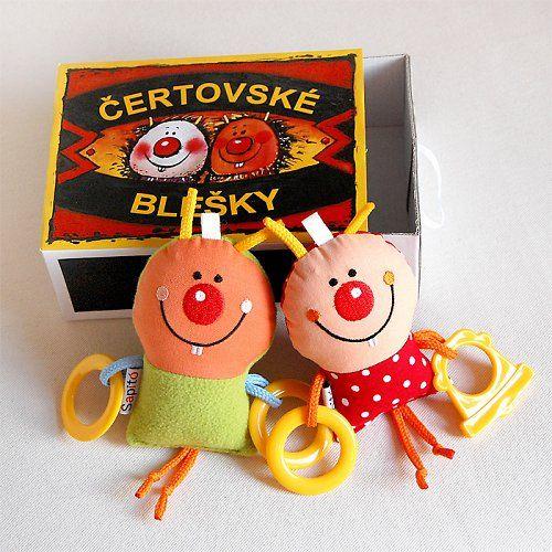 Flea circus / rattles by Šapito   (www.sapito.cz)
