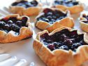 Blueberry cheesecake Galettes