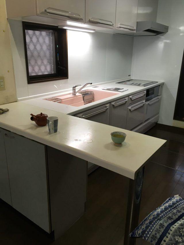 施工事例 キッチン タカラスタンダード リテラ タカラスタンダード キッチン ユニットバス