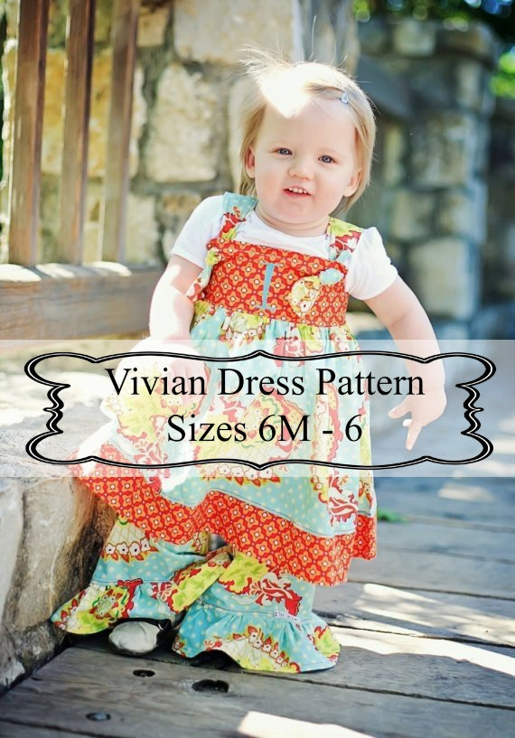 Knot Dress Sewing Pattern by Livi Stitches Sewing Patterns