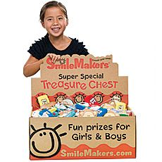 Treasure Chests - Kids Prizes, Dental Toys & More - SmileMakers
