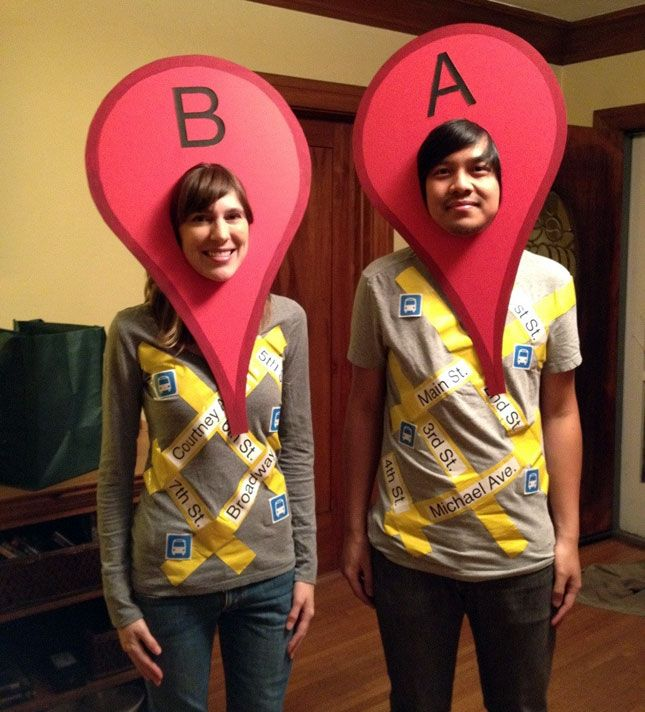 25 Genius DIY Couples Costumes via Brit + Co.