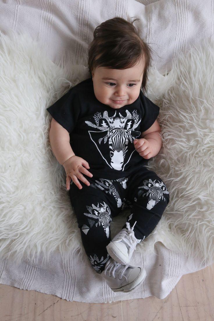 Zebra T-shirt ($42.95) + Zebra Leggings ($34.95). Organic Cotton, Unisex, Ethical & 100% made in Melbourne with love.
