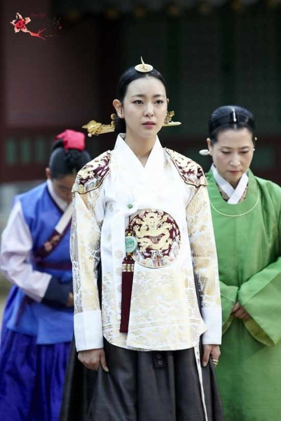 Korean drama [Cruel Palace - War of Flowers] = 장렬왕후 [Queen Jangryeol] - 고원희(Go Won-hee)