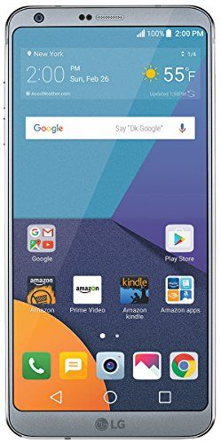 """LG Electronics G6 5.7"""" Unlocked Phone - 32 GB  https://topcellulardeals.com/product/lg-electronics-g6-5-7-unlocked-phone-32-gb/  First smartphone in the US to feature 5.7″ QHD Plus FullVision display with 18:9 aspect ratio Wide-angle cameras: Dual 13 MP standard-angle and wide-angle rear cameras with LED flash and wide-angle 5 MP front camera with Selfie Light Offers and ads, including personalized deals and recommendations, display on the phone's lockscreen"""