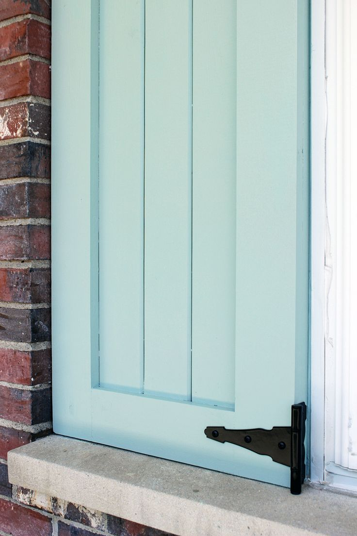 Best  Exterior Shutter Colors Ideas On Pinterest - Stained exterior shutters