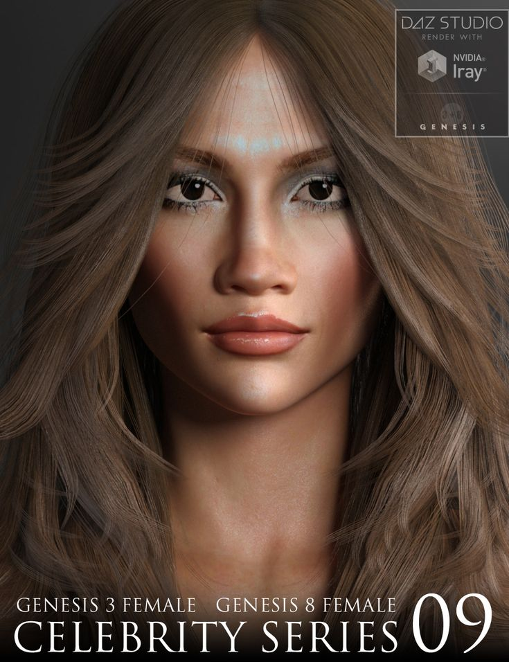 NEW Celebrity Series 09 for Genesis 3 and Genesis 8 Female http://www.most-digital-creations.com/poser_daz_studio_all_products.htm